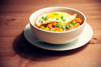 The Product: Kimchi Fried Rice with Egg