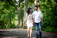 Steven and Euna - New York Engagement Session