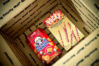 Care package: Hello Panda and Pocky