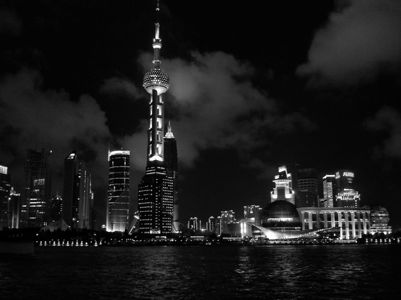 Bund at Night - Shanghai